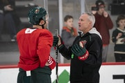 Evason eager to resume, has message for Wild: 'Play the same way'