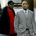 Former Gophers football star Dominic Jones, right, won acquittal on a rape charge but was convicted of fourth-degree sexual assault involving unwanted