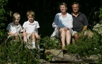 The Taft family – gardener Lisa, her husband, John, and their sons Alex and Bryan , love spending time outdoors in their wildlife-friendly garden.