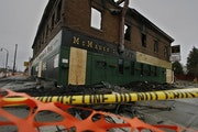 Since a fatal 2010 fire at the building housing McMahon's Pub as well as apartments, the lot on East Lake Street in Minneapolis has sat empty. But t