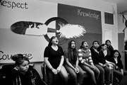 Through a women's health class, Native American girls at�Nawayee Center School in Minneapolis are learning positve lessons about self-esteem and res