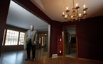 Dennis Guldseth of Coldwell Banker Burnet Realty stood in a home for sale in Eden Prairie.