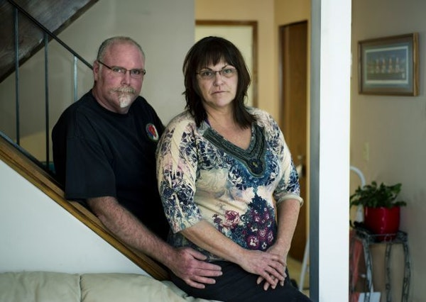 Matt and Judy Truitt, shown at their home, paid $5,675 to secure a spot for Judy's mother at a Golden Valley assisted-living facility. But Judy's
