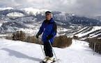 Barbara Perry, 88, at Big Sky Montana