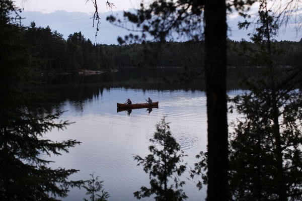 Canoeists in Quetico Provincial Park enjoy more solitude than the nearly quarter-million who paddle the Boundary Waters each year.
