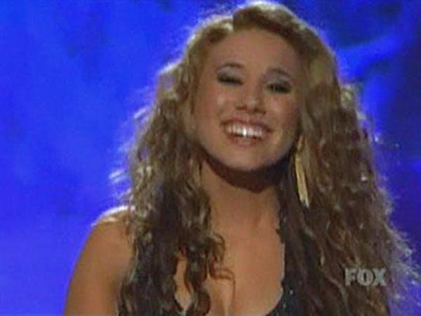 Haley Reinhart's Idol Slip Up