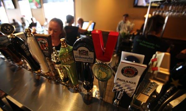 The taps at the Bullfrog.