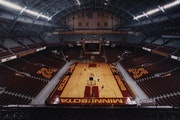 Both Gophers basketball teams practice and play at Williams Arena.
