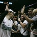 Lindsay Whalen celebrated with fans.