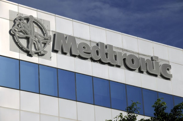 The logo of Medtronic Inc. is displayed at Medtronic Singapore Operations (MSO)
