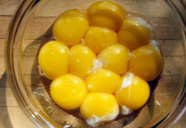 Don't let egg yolks go to waste.