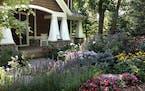 Tricia Frostad's front yard garden in Chanhassen.