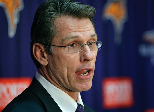 Vikings general manager Rick Spielman