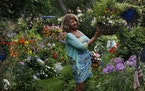Judy Alm has cultivated her Richfield garden for more than 40 years.