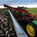 Paul Rutherford, Vice President of the Red River Sugarbeet Growers Association, began harvesting beets in his fields near Euclid in late September.