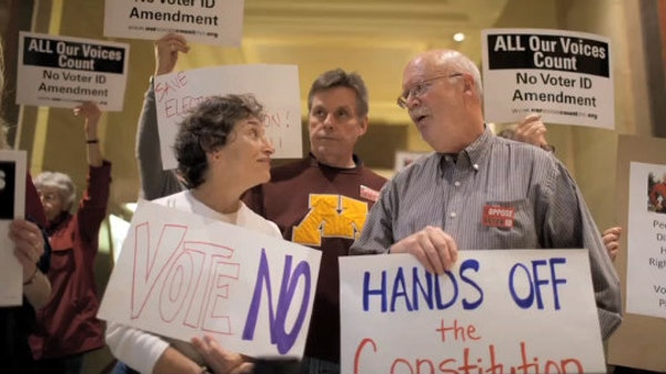 Hot Dish Politics: Voter ID's long debate