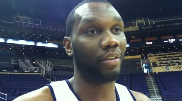 Al Jefferson on ACL injuries and Rubio