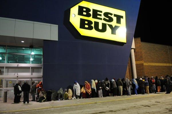 Best Buy in Roseville on Black Friday