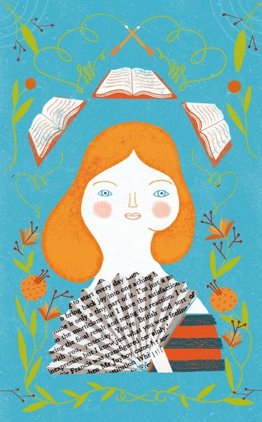 Illustration for summer books package by Marta Antelo (summer 2011) / special to the Star Tribune