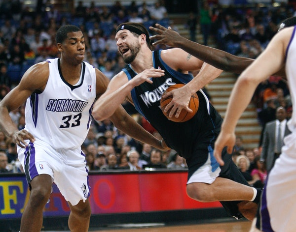 Brad Miller drove the game against Kings defender Hassan Whiteside, who incidentally saw his two-year-old record for blocks by a college freshman brok