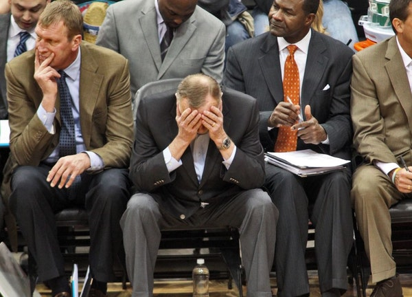 Wolves head coach Rick Adelman