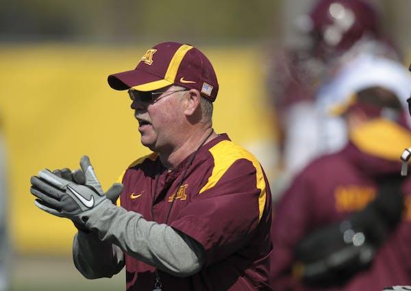 Gophers football coach Jerry Kill