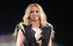 Britney Spears in 2011.