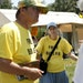Brian and Doris Johnson talked to Lee Lighthouse about their reasons for passing out free Bibles at the annual event.