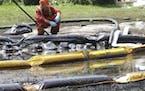 Record fine for Michigan oil spill