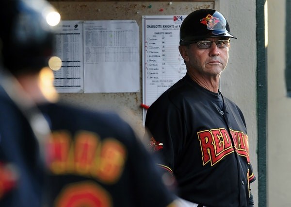 Gene Glynn kept an eye on matters from the dugout last week in Rochester, N.Y., where he works for his home-state franchise as manager.