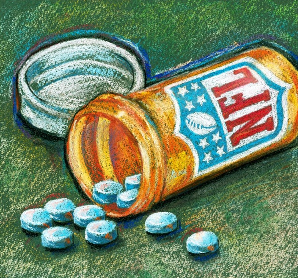 ZEROING IN: Toradol, the players' drug of choice, carries high risks but may soon be banned.