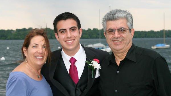 Shereen, Sami and Reuven Rahamim
