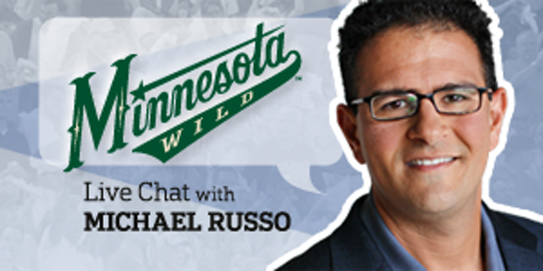 It's on: Wild Live Chat with Michael Russo is in progress
