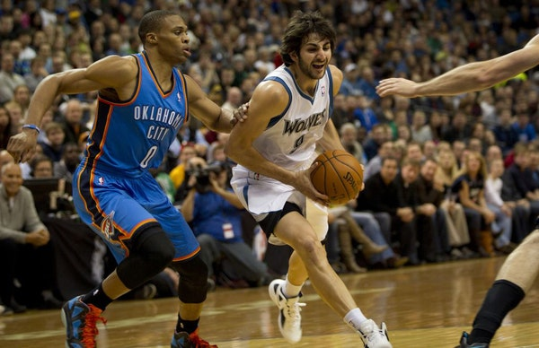 Ricky Rubio has tried to push himself since his Dec. 15 season debut, but his strength and stamina aren't all the way back yet.