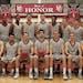 The Hamline basketball team photo, 2012-13 season