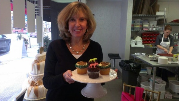 """Robin Johnson, owner of Sweet Retreat in Edina, has established the citizen's group """"Save Minnesota Moose."""""""