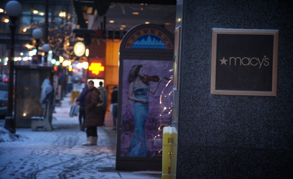 Macy's in Downtown St. Paul is scheduled to close this spring.