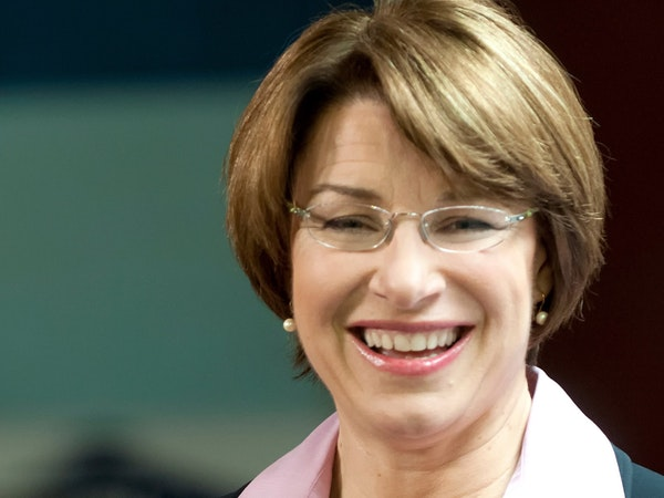U.S. Sen. Amy Klobuchar, D-Minn.