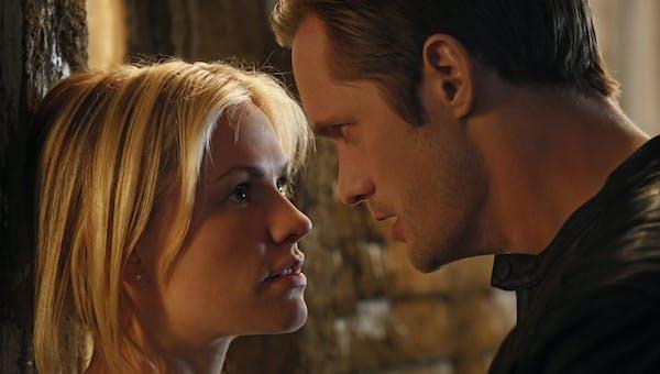"""Anna Paquin and Alexander Skarsgard in """"True Blood."""""""