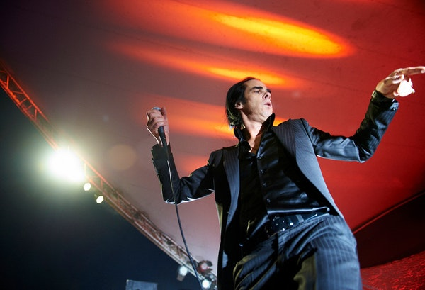 Nick Cave & the Bad Seeds performed last week at Stubb's BBQ as part of the South by Southwest music festival in Austin, Texas.