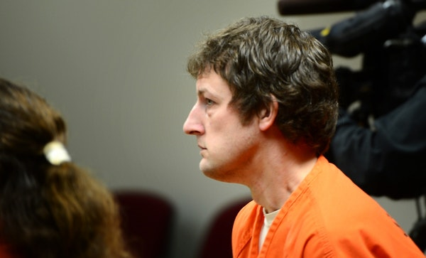 Aaron Schaffhaussen, 35, is accused of killing his three children in their River Falls home in July.