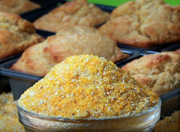 Cornmeal fits in at all times of day.