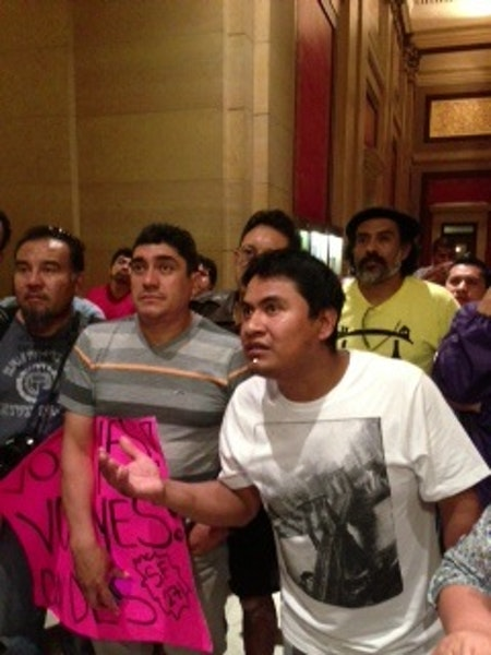 As Senate passes driver's license bill, crowd breaks into cheers