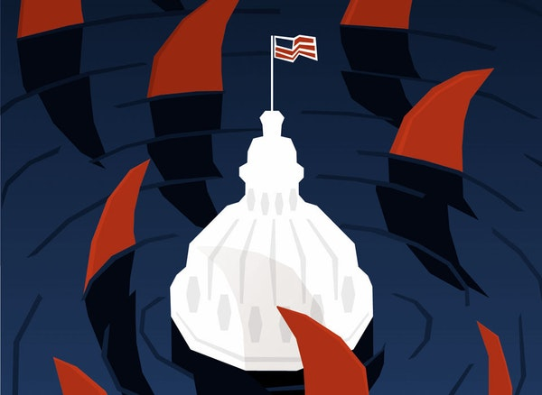 Illustration: Time for Congress to sink or swim.