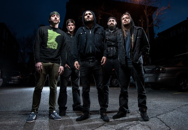 Twin Cities metal quintet After the Burial performs at the Pizza Luce Block Party on Saturday in downtown Minneapolis before hitting the road this fal