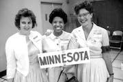 March on Washington 1963: Josie Johnson, center, and Zetta Fedder, right, with an unidentified woman.
