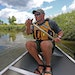 Todd Murawski, recreation specialist with Anoka County Parks and Recreation, paddled down the Rice Creek Chain.