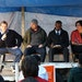 The candidates, left to right: Charles Curtis, Ty Moore, Abdi Abdulle, Alondra Cano,