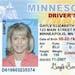Sample Minnesota driver's license.