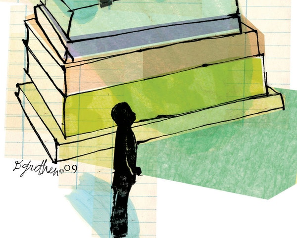 Illustration: The plight of teachers and schools.